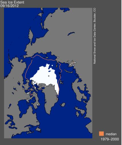 Sea Ice Extent Top